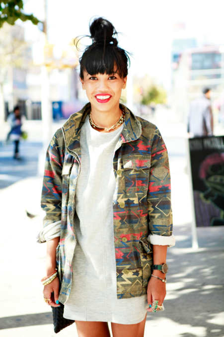 Photo 6 from Tachie Tran, assistant visual manager at Free People in Brooklyn