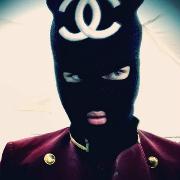 Photo 7 from Justin Bieber's Chanel Ski Mask