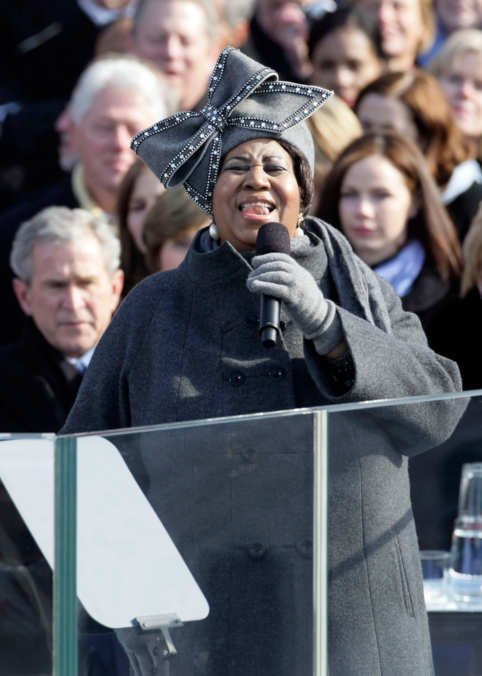 Photo 16 from Aretha Franklin's 2009 Inauguration Hat